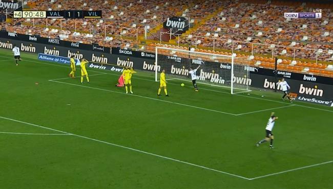 اهداف مباراة فالنسيا وفياريال (2-1) الدوري الاسباني