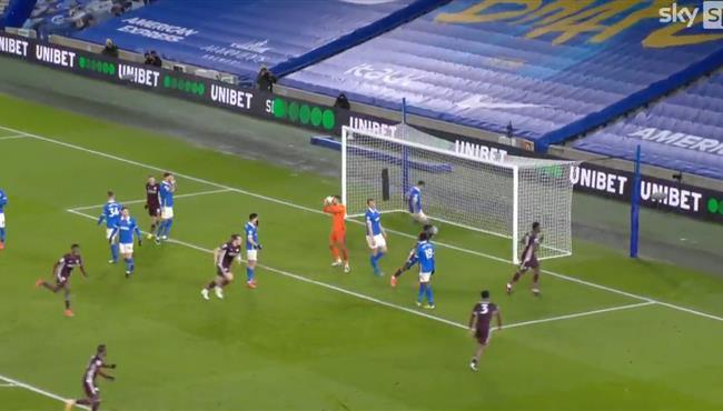 اهداف مباراة ليستر سيتي وبرايتون (2-1) الدوري الانجليزي