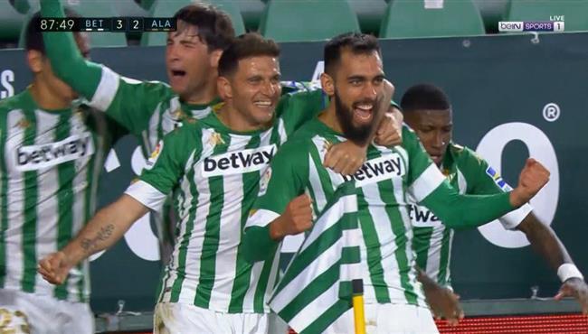 اهداف مباراة ريال بيتيس وديبورتيفور الافيس (3-2) الدوري الاسباني