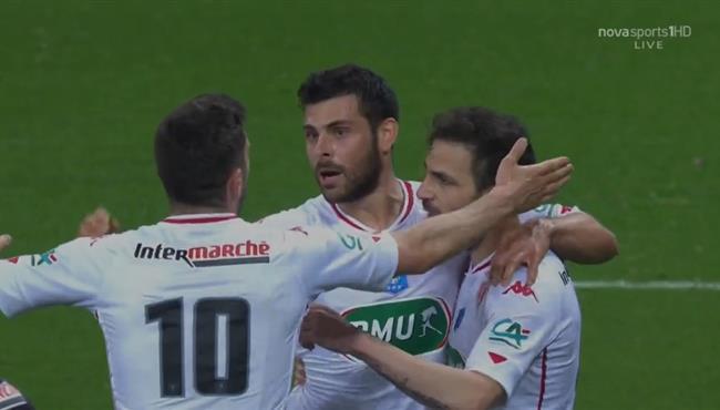 اهداف مباراة موناكو ونيس (2-0) كأس فرنسا