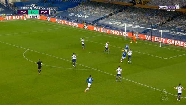 اهداف مباراة توتنهام وايفرتون (2-2) الدوري الانجليزي