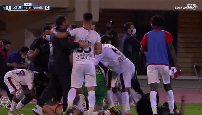 هدف فوز الرائد القاتل علي القادسية (1-0) الدوري السعودي