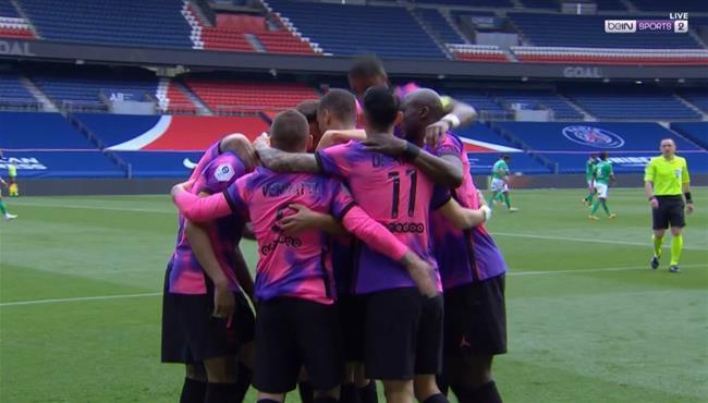 اهداف مباراة باريس سان جيرمان وسانت ايتيان (3-2) الدوري الفرنسي