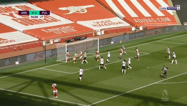 اهداف مباراة ارسنال وفولهام (1-1) الدوري الانجليزي