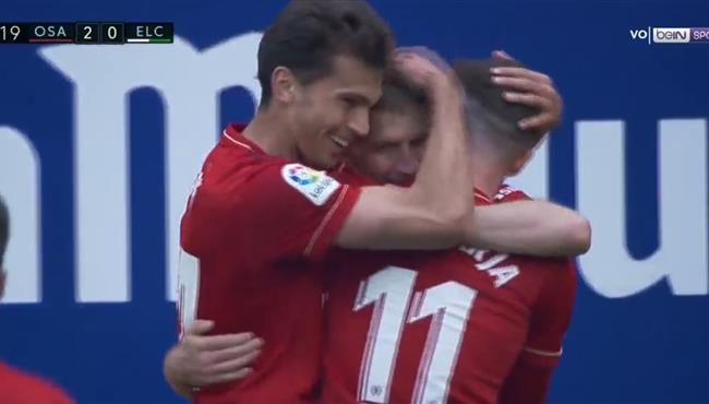 اهداف مباراة اوساسونا والتشي (2-0) الدوري الاسباني
