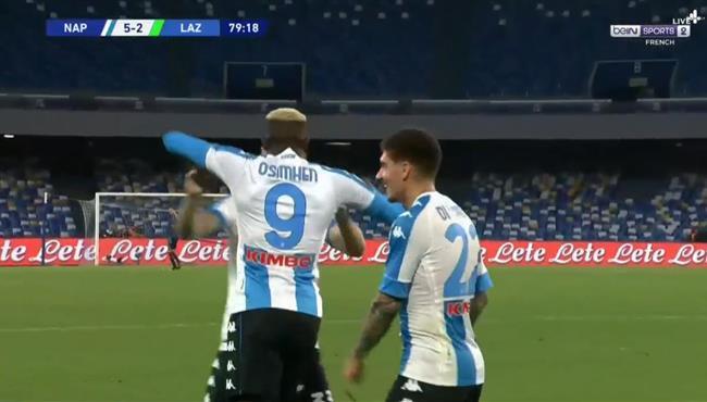 اهداف مباراة نابولي ولاتسيو (5-2) الدوري الايطالي