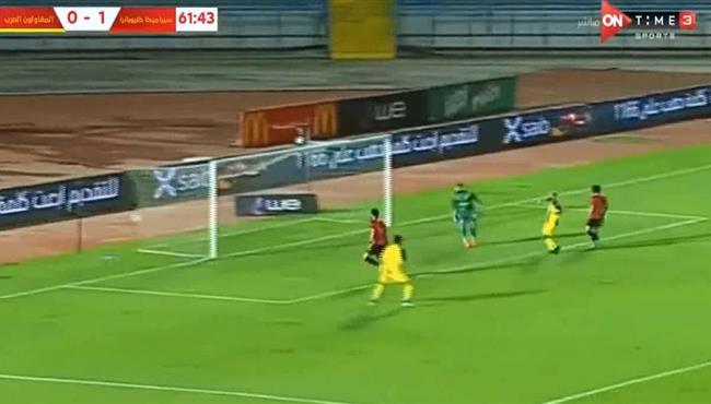 اهداف مباراة سيراميكا كليوباترا والمقاولون العرب (1-1) الدوري المصري