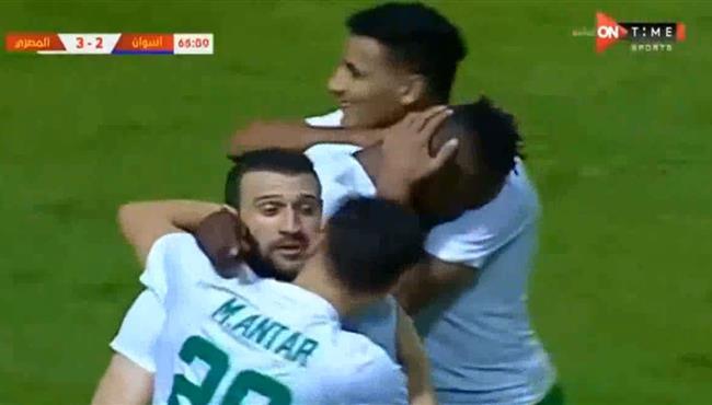 اهداف مباراة المصري واسوان (3-2) الدوري المصري