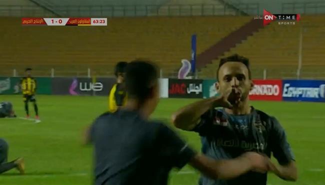 اهداف مباراة المقاولون العرب والانتاج الحربي (1-1) الدوري المصري