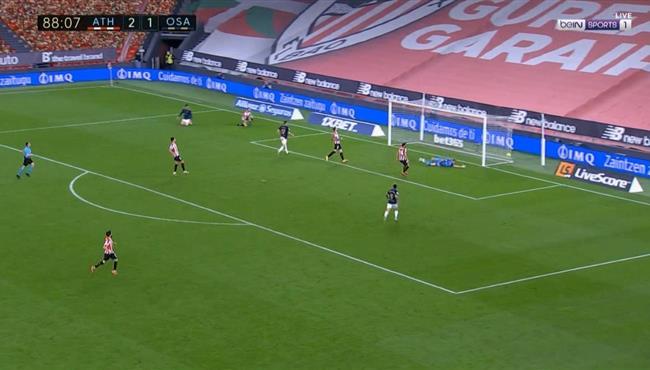 اهداف مباراة اتلتيك بلباو واوساسونا (2-2) الدوري الاسباني
