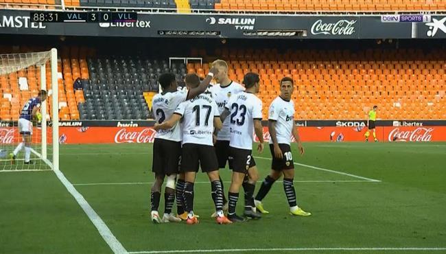 اهداف مباراة فالنسيا وبلد الوليد (3-0) الدوري الاسباني