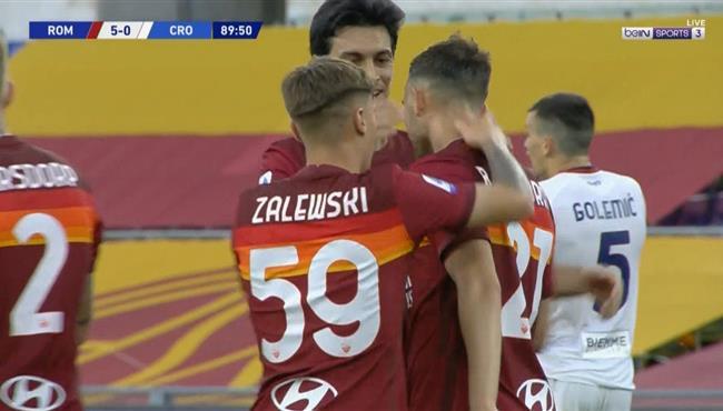 اهداف مباراة روما وكروتوني (5-0) الدوري الايطالي