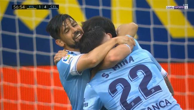 اهداف مباراة سيلتا فيجو وفياريال (4-2) الدوري الاسباني