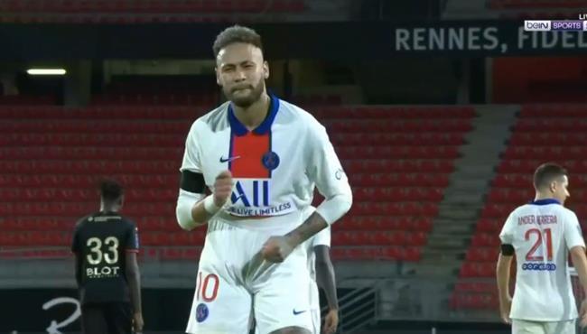 اهداف مباراة باريس سان جيرمان ورين (1-1) الدوري الفرنسي