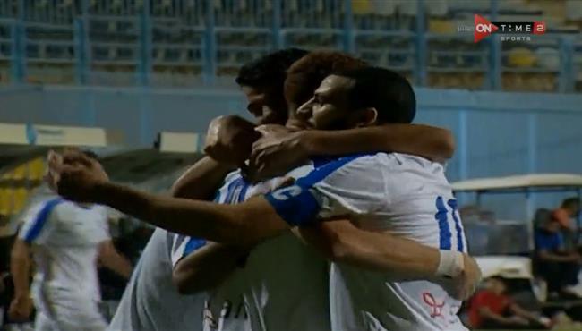 اهداف مباراة الاسماعيلي والبنك الاهلي (2-0) الدوري المصري