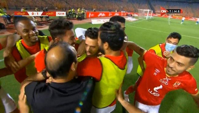 اهداف مباراة الاهلي والزمالك (1-1) الدوري المصري