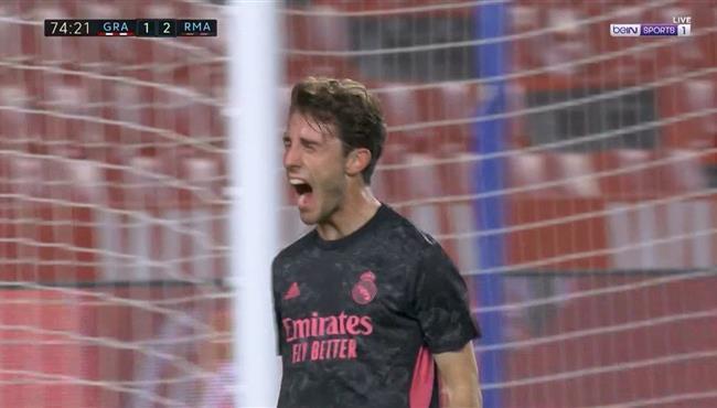 هدف ريال مدريد الثالث في مرمي غرناطة .. اودريوزولا