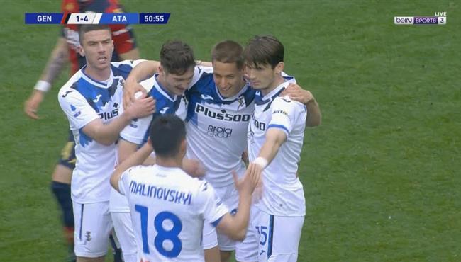 اهداف مباراة اتالانتا وجنوي (4-3) الدوري الايطالي