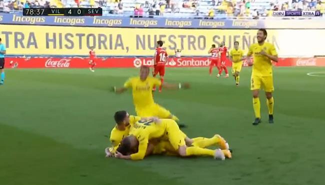 اهداف مباراة اشبيلية وفياريال (0-4) الدوري الاسباني