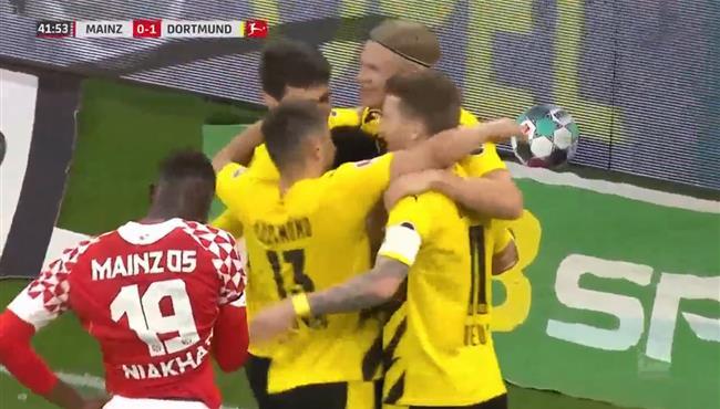 اهداف مباراة بوروسيا دورتموند وماينز (3-1) الدوري الالماني