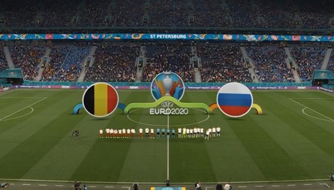 ملخص مباراة بلجيكا وروسيا (3-0) كأس امم اوروبا