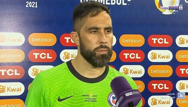 تصريحات برافو بعد مباراة الارجنتين وتشيلي