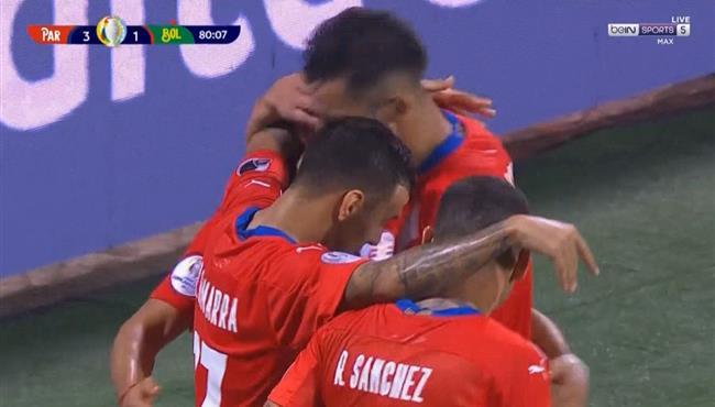 اهداف مباراة باراجواي وبوليفيا (3-1) كوبا امريكا