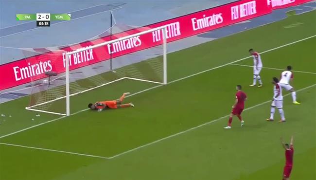 اهداف مباراة فلسطين واليمن (3-0) تصفيات كأس العالم