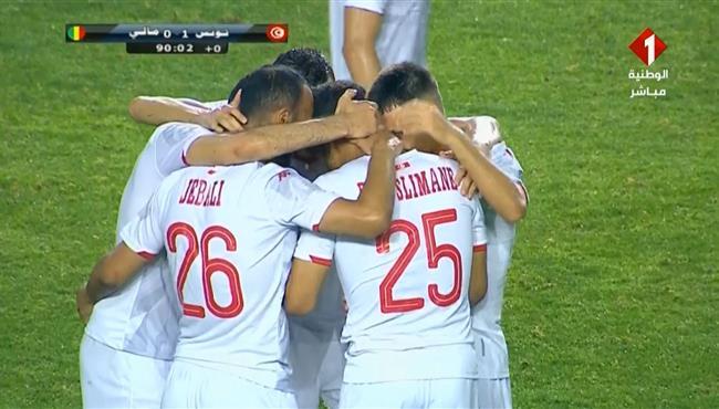 هدف فوز تونس على مالي (1-0) مباراة ودية
