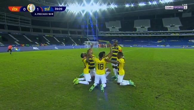 اهداف مباراة الاكوادور وفنزويلا (2-2) كوبا امريكا