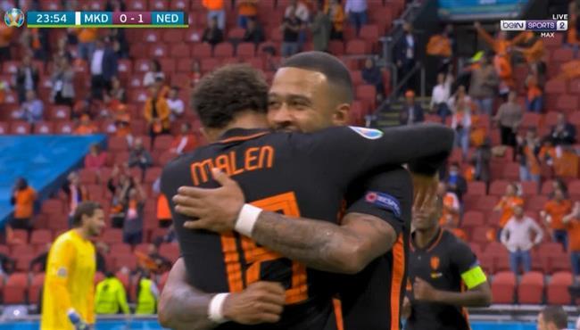 اهداف مباراة هولندا ومقدونيا (3-0) كاس امم اوروبا