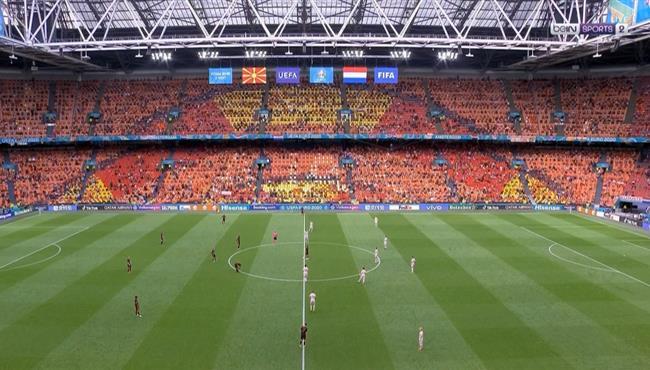 ملخص مباراة هولندا ومقدونيا (3-0) كاس امم اوروبا
