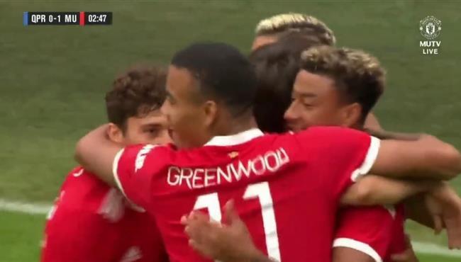 اهداف مباراة مانشستر يونايتد وكوينز بارك رينجرز (2-4) مباراة ودية