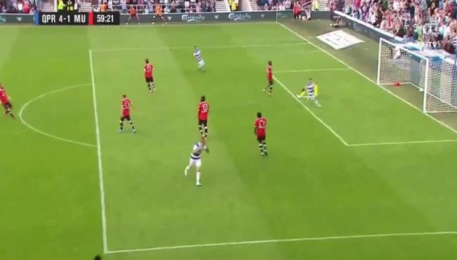 هدف رائع في مباراة مانشستر يونايتد وكوينز بارك رينجرز الودية