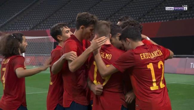 هدف فوز إسبانيا علي استراليا (1-0) أولمبياد طوكيو