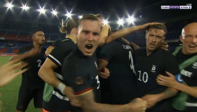 هدف المانيا الثالث في مرمي السعودية باولمبياد طوكيو