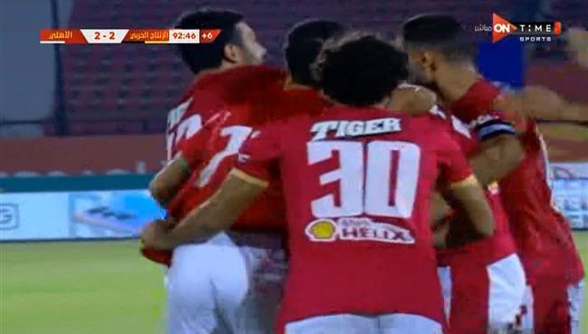 اهداف مباراة الاهلي والانتاج الحربي (3-2) الدوري المصري
