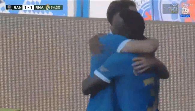 هدف تعادل جلاسكو رينجزر مع ريال مدريد (1-1) مباراة ودية