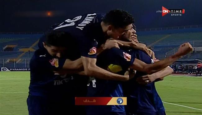 اهداف مباراة بيراميدز والبنك الأهلي (1-1) الدوري المصري