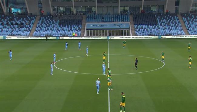 ملخص مباراة مانشستر سيتي وبريستون نورث (2-0) الودية