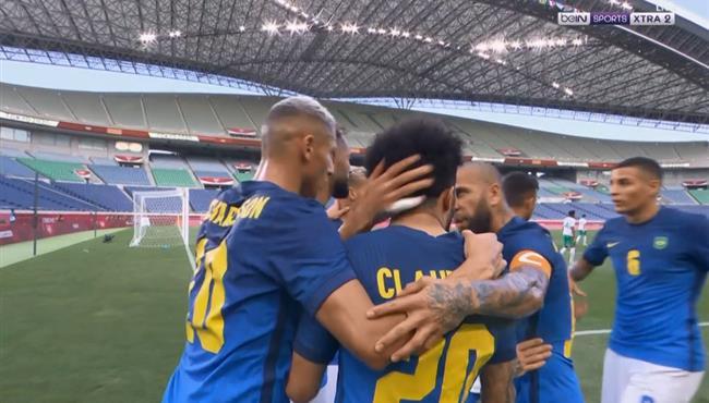 هدف البرازيل الاول في مرمي السعودية (1-0) اولبيماد طوكيو