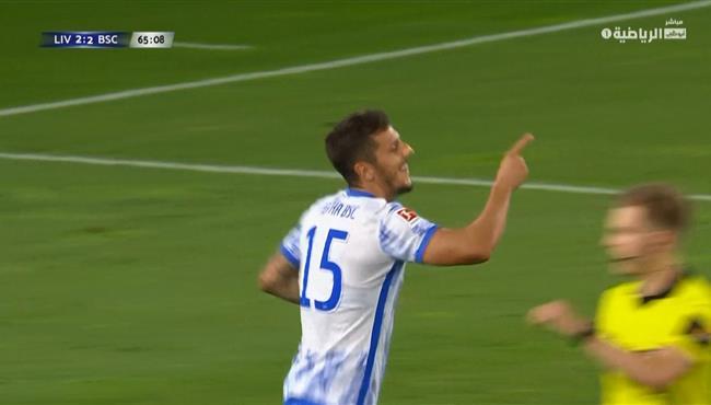 هدف هيرتا برلين الثالث في مرمي ليفربول (3-2) مباراة ودية