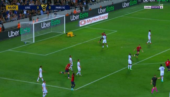 هدف فوز ليل علي باريس سان جيرمان (1-0) كأس السوبر الفرنسي