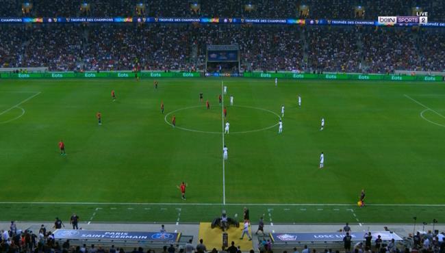 ملخص مباراة باريس سان جيرمان وليل (0-1) كأس السوبر الفرنسي