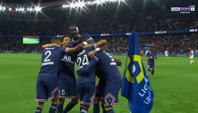 اهداف مباراة باريس سان جيرمان وليون (2-1) الدوري الفرنسي