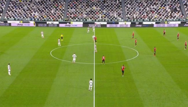 ملخص مباراة يوفنتوس وميلان (1-1) الدوري الايطالي