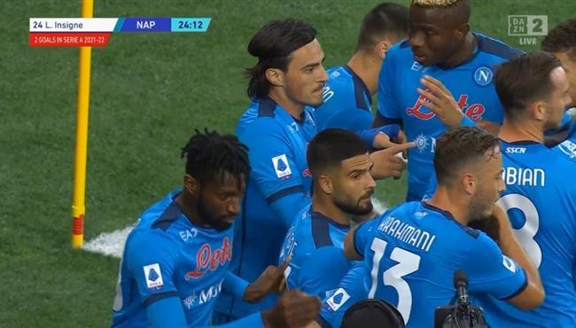 اهداف مباراة نابولي واودينيزي (4-0) الدوري الايطالي