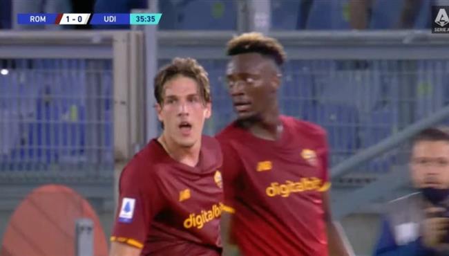 هدف فوز روما علي اودينيزي (1-0) الدوري الايطالي