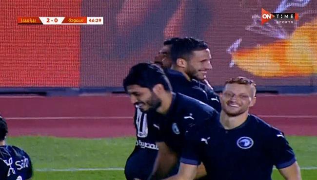 اهداف مباراة بيراميدز وسموحة (3-1) كاس مصر