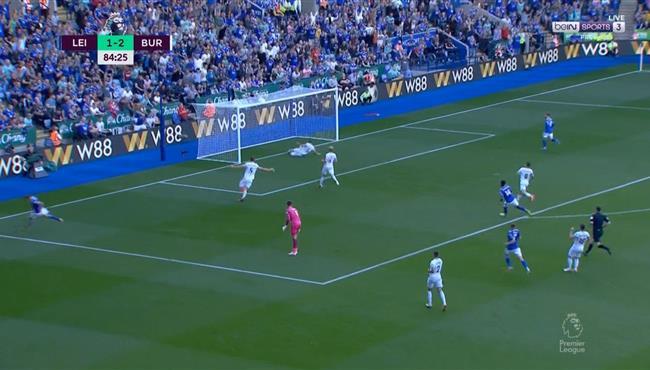 اهداف مباراة ليستر سيتي وبيرنلي (2-2) الدوري الانجليزي